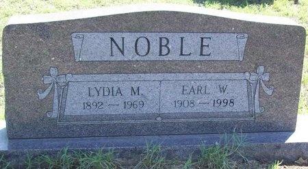 NOBLE, EARL W. - Greene County, Missouri | EARL W. NOBLE - Missouri Gravestone Photos