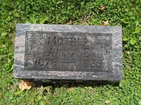 PARKER, ANNA E - Greene County, Missouri   ANNA E PARKER - Missouri Gravestone Photos