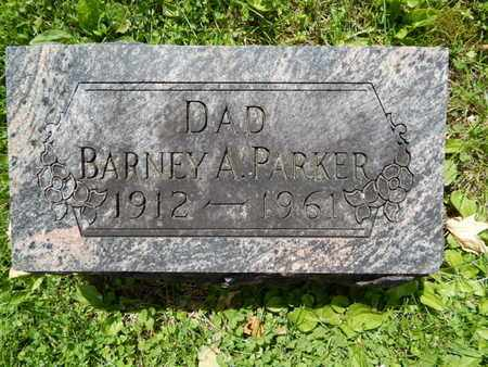 PARKER, BARNEY A - Greene County, Missouri | BARNEY A PARKER - Missouri Gravestone Photos