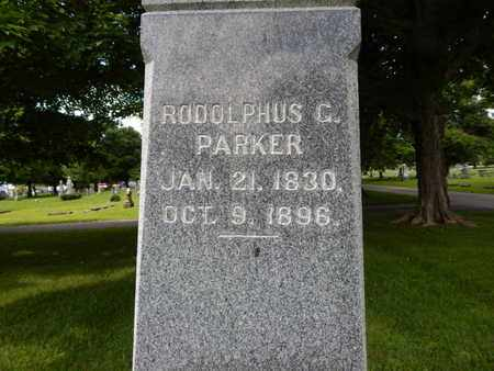 PARKER, RUDOLPHUS G - Greene County, Missouri | RUDOLPHUS G PARKER - Missouri Gravestone Photos