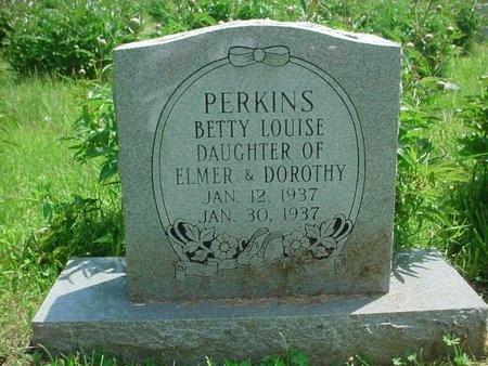 PERKINS, BETTY LOUISE - Greene County, Missouri | BETTY LOUISE PERKINS - Missouri Gravestone Photos