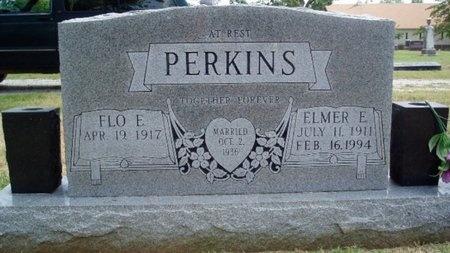 PERKINS, ELMER E. - Greene County, Missouri   ELMER E. PERKINS - Missouri Gravestone Photos