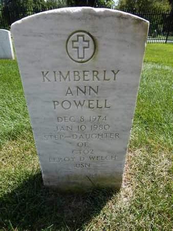 POWELL, KIMBERLY ANN - Greene County, Missouri   KIMBERLY ANN POWELL - Missouri Gravestone Photos