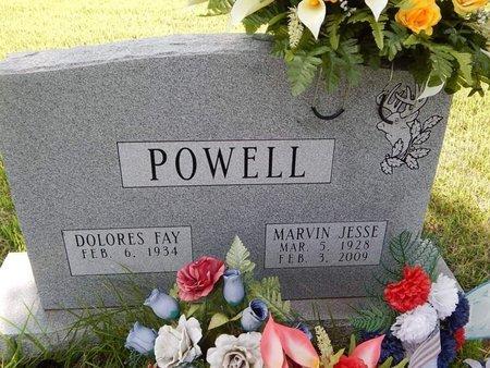 POWELL, MARVIN JESSE - Greene County, Missouri | MARVIN JESSE POWELL - Missouri Gravestone Photos