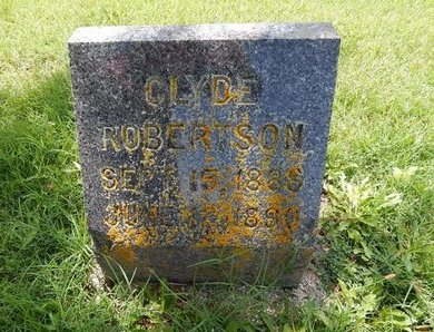 ROBERTSON, CLYDE - Greene County, Missouri | CLYDE ROBERTSON - Missouri Gravestone Photos