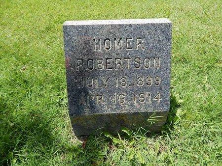 ROBERTSON, HOMER - Greene County, Missouri | HOMER ROBERTSON - Missouri Gravestone Photos