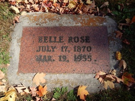 ROSE, BELLE - Greene County, Missouri | BELLE ROSE - Missouri Gravestone Photos
