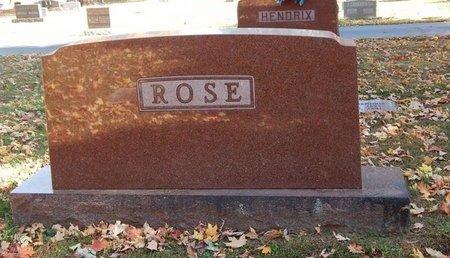 ROSE, FAMILY MARKER - Greene County, Missouri | FAMILY MARKER ROSE - Missouri Gravestone Photos