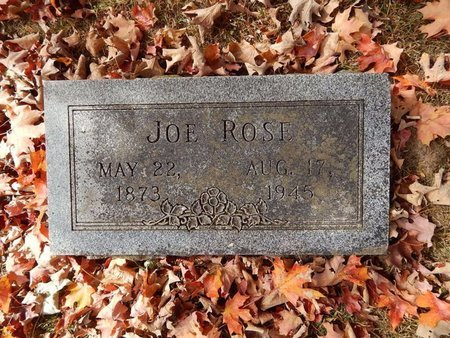 ROSE, JOE - Greene County, Missouri | JOE ROSE - Missouri Gravestone Photos