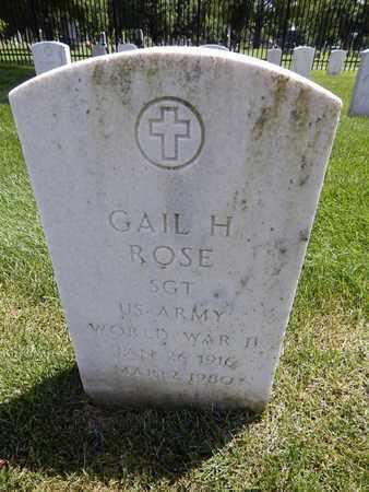 ROSE, GAIL H (VETERAN WWII) - Greene County, Missouri | GAIL H (VETERAN WWII) ROSE - Missouri Gravestone Photos
