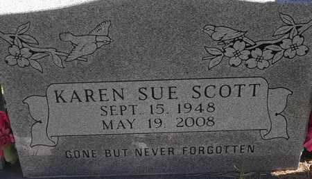 SCOTT, KAREN SUE - Greene County, Missouri | KAREN SUE SCOTT - Missouri Gravestone Photos