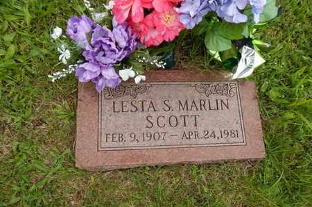 SCOTT, LESTA S - Greene County, Missouri | LESTA S SCOTT - Missouri Gravestone Photos