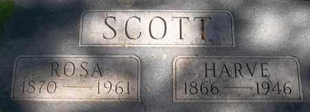 SCOTT, HARVE - Greene County, Missouri | HARVE SCOTT - Missouri Gravestone Photos