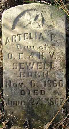 SEWELL, ARTELIA P - Greene County, Missouri   ARTELIA P SEWELL - Missouri Gravestone Photos