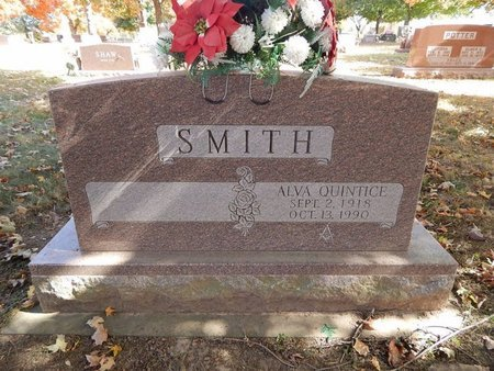 SMITH, ALVA - Greene County, Missouri | ALVA SMITH - Missouri Gravestone Photos