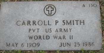 SMITH, CARROLL P - Greene County, Missouri   CARROLL P SMITH - Missouri Gravestone Photos