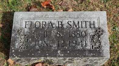 SMITH, FLORA B - Greene County, Missouri | FLORA B SMITH - Missouri Gravestone Photos