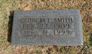 SMITH, GEORGIA L - Greene County, Missouri | GEORGIA L SMITH - Missouri Gravestone Photos