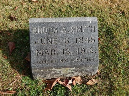 SMITH, RHODA A - Greene County, Missouri | RHODA A SMITH - Missouri Gravestone Photos