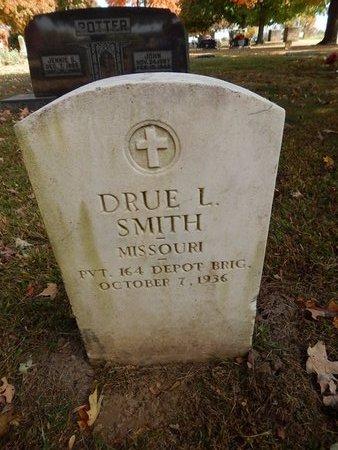 SMITH, DRUE L  (VETERAN) - Greene County, Missouri | DRUE L  (VETERAN) SMITH - Missouri Gravestone Photos