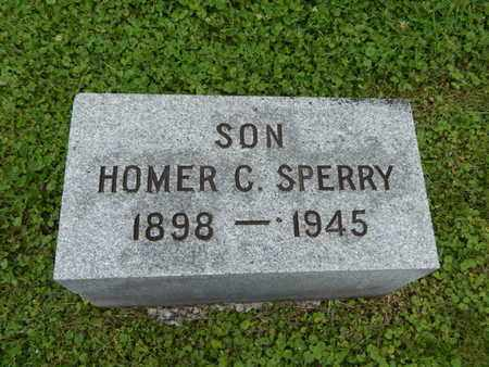 SPERRY, HOMER C - Greene County, Missouri | HOMER C SPERRY - Missouri Gravestone Photos