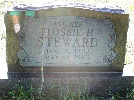 STEWARD, FLOSSIE HELEN - Greene County, Missouri   FLOSSIE HELEN STEWARD - Missouri Gravestone Photos