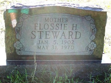 PERKINS STEWARD, FLOSSIE HELEN - Greene County, Missouri | FLOSSIE HELEN PERKINS STEWARD - Missouri Gravestone Photos