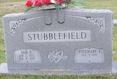 STUBBLEFIELD, SAM E. - Greene County, Missouri | SAM E. STUBBLEFIELD - Missouri Gravestone Photos