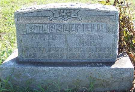 STUBBLEFIELD, NORA - Greene County, Missouri | NORA STUBBLEFIELD - Missouri Gravestone Photos