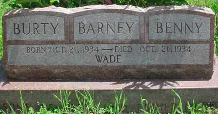 WADE, BENNY - Greene County, Missouri | BENNY WADE - Missouri Gravestone Photos
