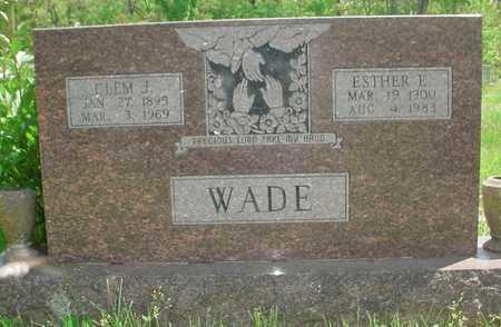 WADE, AMY ESTHER - Greene County, Missouri   AMY ESTHER WADE - Missouri Gravestone Photos