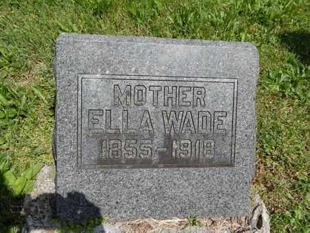 WADE, ELLA - Greene County, Missouri   ELLA WADE - Missouri Gravestone Photos