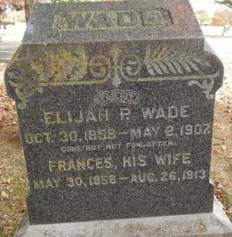 WADE, ELIJAH P - Greene County, Missouri | ELIJAH P WADE - Missouri Gravestone Photos