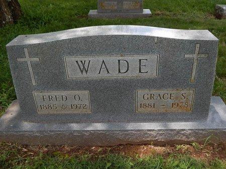 WADE, GRACE S - Greene County, Missouri | GRACE S WADE - Missouri Gravestone Photos