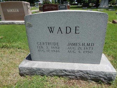 WADE, JAMES H (DOCTOR) - Greene County, Missouri   JAMES H (DOCTOR) WADE - Missouri Gravestone Photos