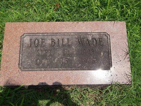 WADE, JOE BILL - Greene County, Missouri | JOE BILL WADE - Missouri Gravestone Photos