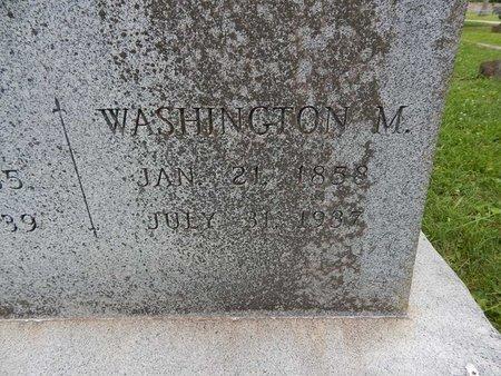 WADE, WASHINGTON M (CLOSE-UP) - Greene County, Missouri   WASHINGTON M (CLOSE-UP) WADE - Missouri Gravestone Photos