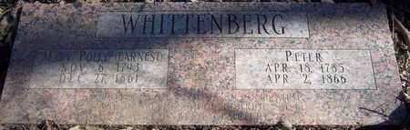 WHITTENBERG, PETER - Greene County, Missouri | PETER WHITTENBERG - Missouri Gravestone Photos