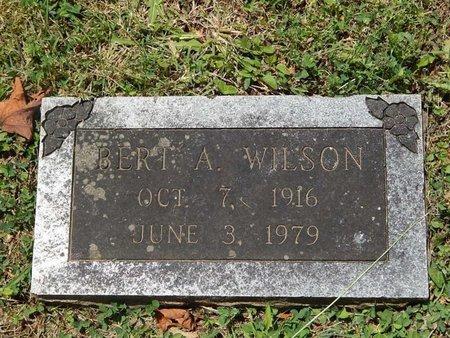 WILSON, BERT A - Greene County, Missouri | BERT A WILSON - Missouri Gravestone Photos