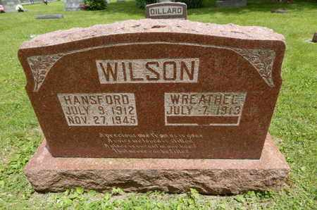 WILSON, HANSFORD - Greene County, Missouri | HANSFORD WILSON - Missouri Gravestone Photos
