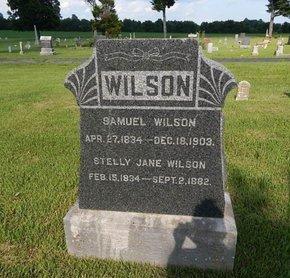 WILSON, SAMUEL - Greene County, Missouri | SAMUEL WILSON - Missouri Gravestone Photos