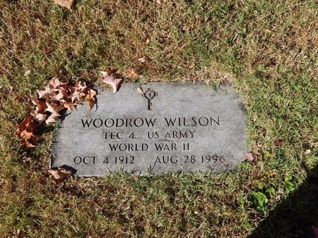 WILSON, WOODROW (VETERAN WWII) - Greene County, Missouri | WOODROW (VETERAN WWII) WILSON - Missouri Gravestone Photos