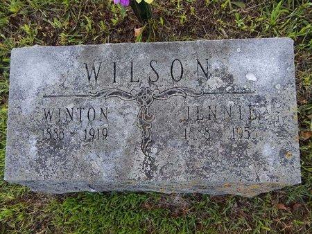 WILSON, JENNIE - Greene County, Missouri | JENNIE WILSON - Missouri Gravestone Photos