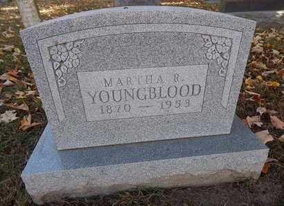 YOUNGBLOOD, MARTHA R - Greene County, Missouri | MARTHA R YOUNGBLOOD - Missouri Gravestone Photos