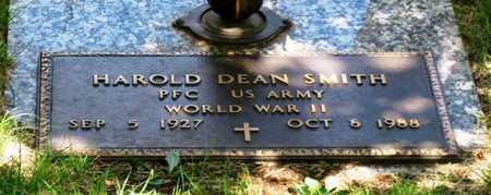 SMITH, HAROLD DEAN VETERAN WWII - Greene County, Missouri   HAROLD DEAN VETERAN WWII SMITH - Missouri Gravestone Photos
