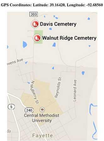 *, CEMETERY LOCATION - Howard County, Missouri   CEMETERY LOCATION * - Missouri Gravestone Photos