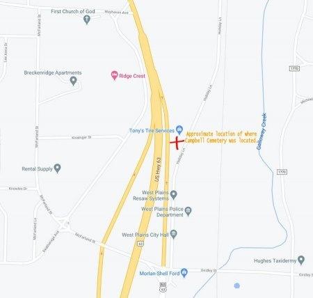 *, CEMETERY LOCATION - Howell County, Missouri | CEMETERY LOCATION * - Missouri Gravestone Photos