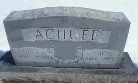 ACHUFF, ARTHUR - Howell County, Missouri | ARTHUR ACHUFF - Missouri Gravestone Photos