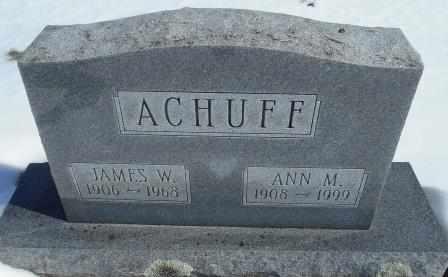 ACHUFF, JAMES W. - Howell County, Missouri | JAMES W. ACHUFF - Missouri Gravestone Photos