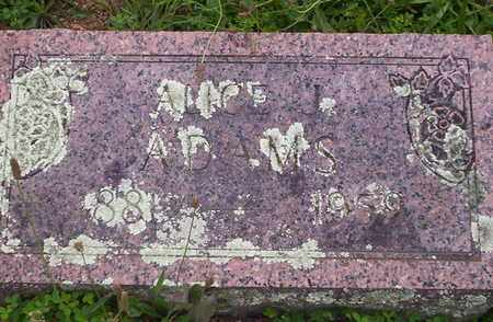 ADAMS, ALICE JOSEPHINE - Howell County, Missouri | ALICE JOSEPHINE ADAMS - Missouri Gravestone Photos